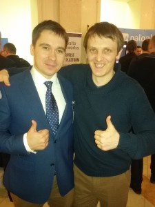 Мы с Андреем Прозоровым