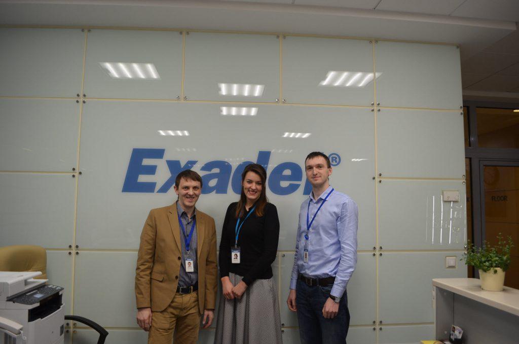Команда ИБ Exadel (ну кроме меня, того что в пиджачке:)
